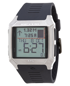 Rip Curl Rifles SS Tide Watch, Black